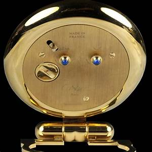 Cartier, Travel, Desk, Clock, Unisex, 1990, U0026, 39, S, W1213