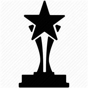 Award, cup with a star, gold star prize, star award, star ...