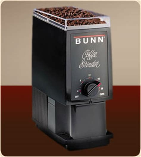 The grinder can handle enough beans to make sufficient coffee for the entire family. Bunn BCG-B Professional Quality Home Coffee Grinder