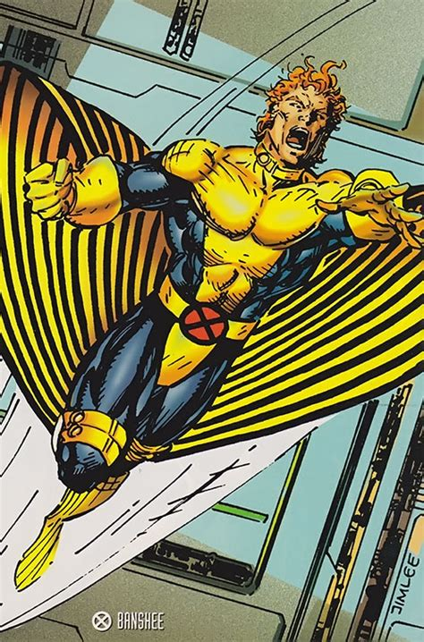 banshee marvel comics  men sean cassidy character