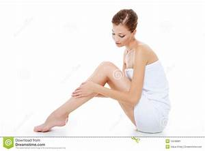 Body Care Of Female Legs Stock Image - Image: 10248681