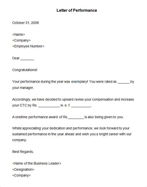 sample appraisal letters    premium