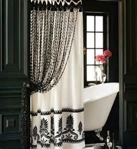 Gold Bead Curtain by Would You Like An Elegant Shower Curtain Www Nicespace Me