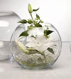vase boule verre centre de table mariage vases coupelles With marvelous commentaire faire la couleur bleu 12 decoration anniversaire decoration salle anniversaire