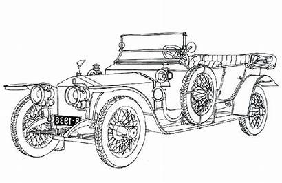 Coloring Royce Rolls Pages Classic Ghost Silver