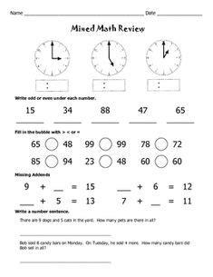 clock problems   grade  grade math worksheets