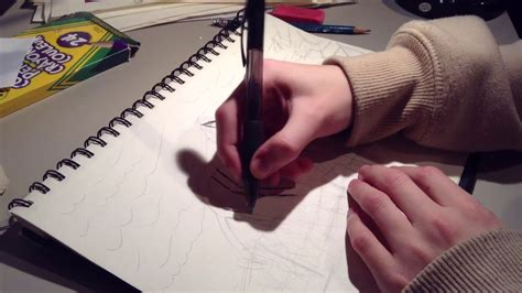 I try to draw the MIND FLAYER from STRANGER THINGS - YouTube