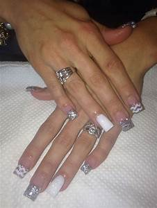pin by shaelyn loperena on acrylic nails white and