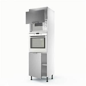 inspirant meuble de cuisine pour four encastrable With meuble a four encastrable