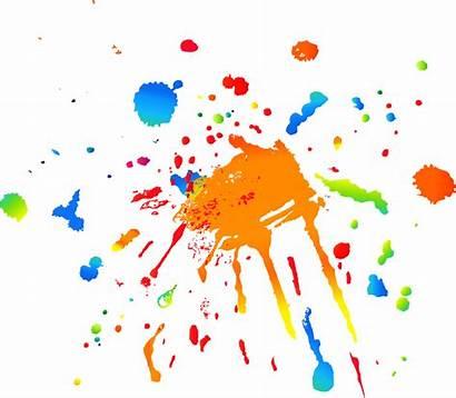 Splatter Paint Transparent Splash Clipart Clip Ink