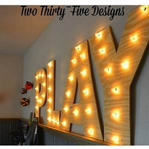 17 best ideas about diy marquee letters on pinterest diy With play marquee letters