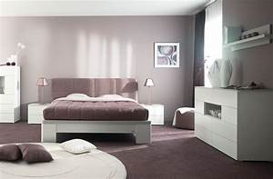 inspiration decoration de chambre contemporaine gautier opalia With deco chambre adulte contemporaine
