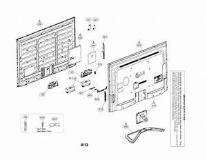 Lg Model 60la6200uabusuljr Lcd Television Genuine Parts