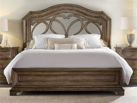 hooker furniture solana wood panel bed bedroom set
