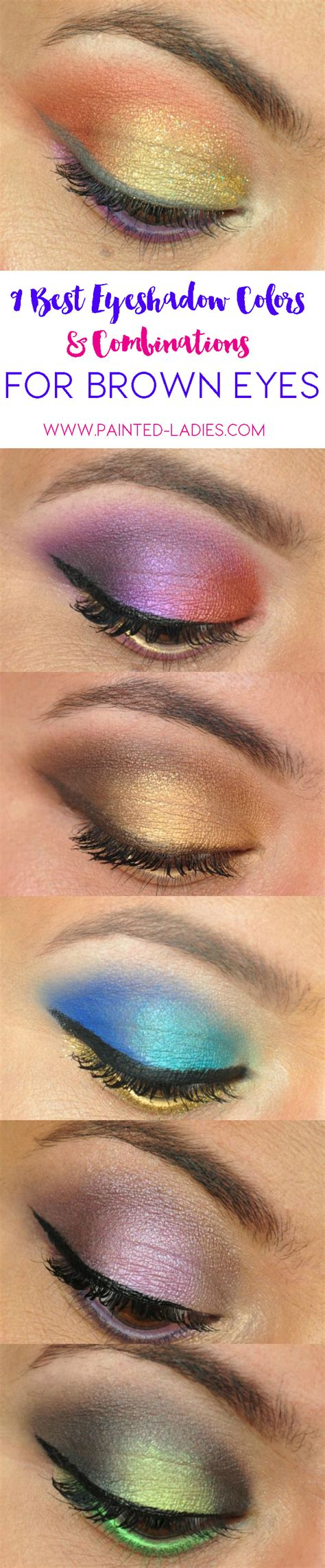 eyeshadow colors best eyeshadow colors and combinations for brown