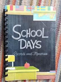 School Days Memory Book