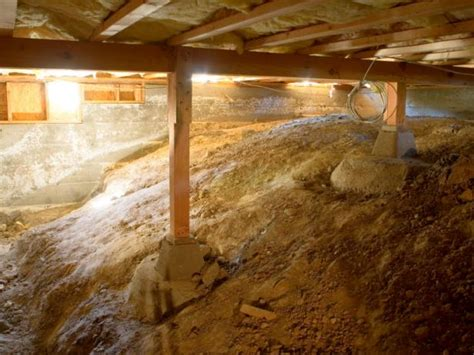 waterproofing basements with dirt floors walls vapor barrier for basement floor crawl space insulation what you should know hgtv