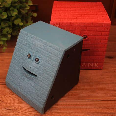 ᑐfacebank bank sensor coin φ φ saving money box 웃 유 child child gift