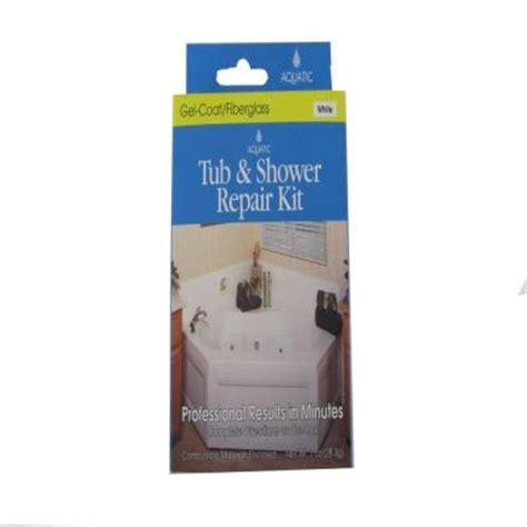 repair fiberglass tub aquatic gelcoat repair kit in white 35rkwh the home depot