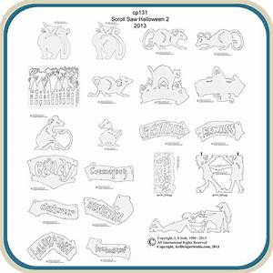 Halloween Scroll Saw 2 Patterns – Classic Carving Patterns