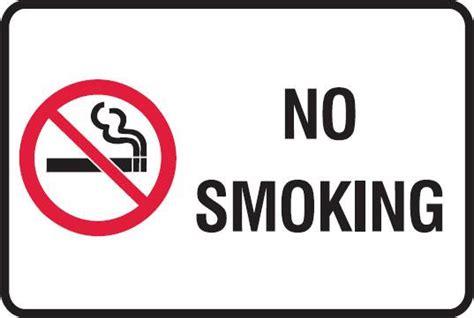No Smoking Signs Free