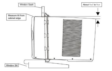 install  window air conditioner edgestar