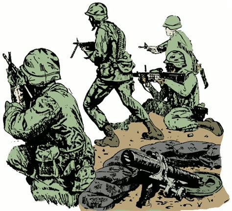 Army Clipart Fighting Clipart Clipart Suggest