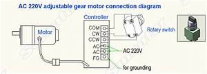 Detail Feedback Questions About Gw200 200w Ac 220 240v 50  60hz Electric Worm Geared Motor