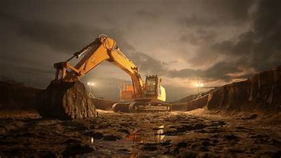 Excavator Wallpapers Terren Entreprenad Holmberg Hansa Ab