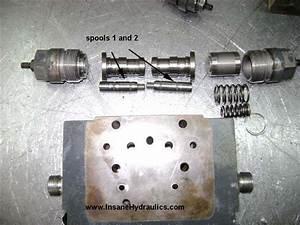 Ms Control For A4vg Rexroth Pumps  Used By O U0026k  Liebherr