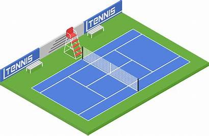Tennis Courts Surfaces Sports