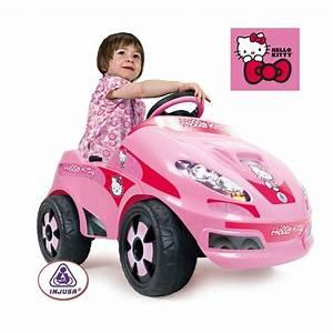 Voiture Enfant Fille : hello kitty voiture 6v achat vente voiture hello kitty voiture 6v cdiscount ~ Teatrodelosmanantiales.com Idées de Décoration