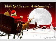 Nikolaus • Grußkarten eCards Nikolausgrüße
