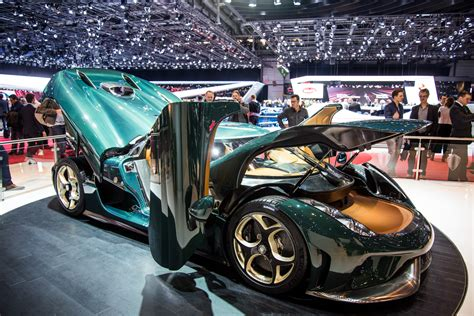 Koenigsegg At The 2017 Geneva Motor
