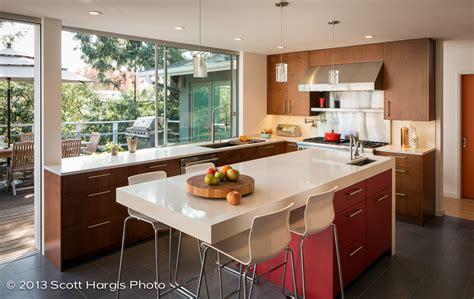mid century modern kitchen upgraded  building lab