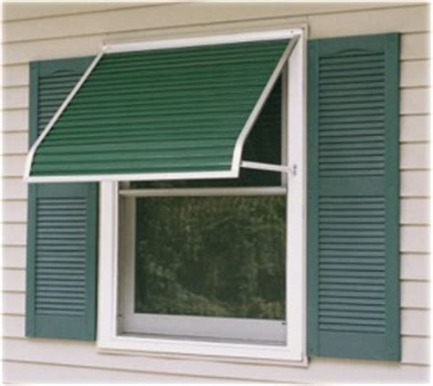 futureguard series  aluminum window awnings  canada