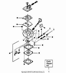 Poulan Gti19t Gas Trimmer Parts Diagram For Carburetor Wa