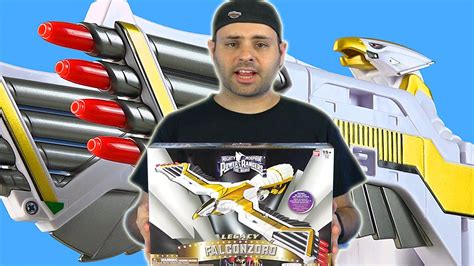 Power Rangers Legacy Falconzord Review! (Mighty Morphin ...