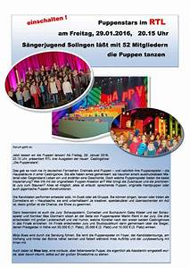 Rtl Werbung 2016 : chorakademie bergisch land e v ~ Markanthonyermac.com Haus und Dekorationen