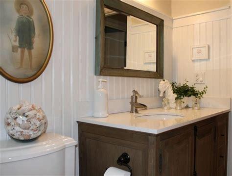 Bathrooms With Beadboard Walls : Beadboard Wainscoting