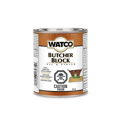 Watco® Butcher Block Oil & Finish Product Page