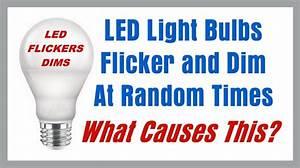 Why Do My Led Lights Flicker In Ceiling Fan