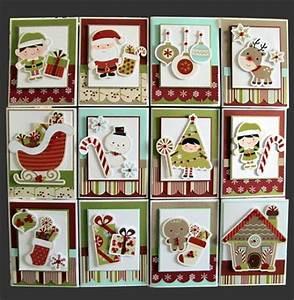 cute christmas card ideas made with the cricut
