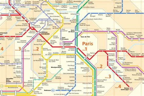 bureau association lignes du réseau de trains transilien