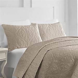 Pembroke, Taupe, Quilt, By, Croscill