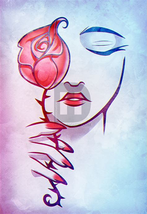 rose face tattoo art drawing step  step drawing guide