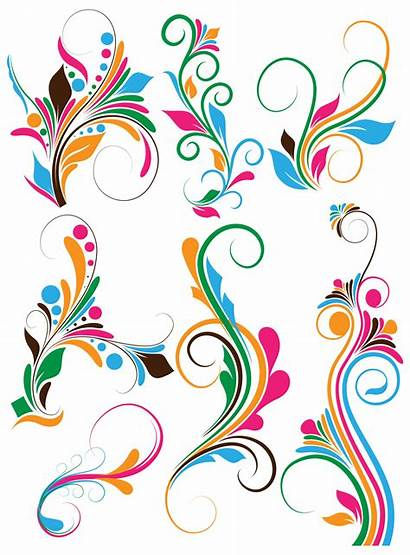 Clip Swirl Vectors Flowers Flourish Vector Designs