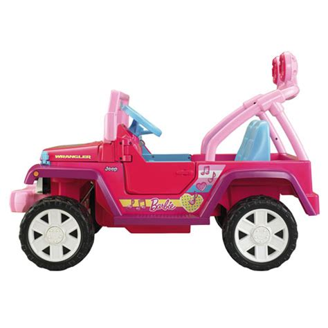 barbie jammin jeep power wheels barbie jammin jeep wrangler shop power