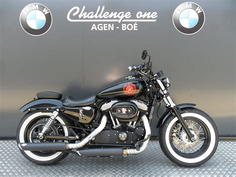 Harley Davidson Forty Eight Modification by Motos D Occasion Challenge One Agen Harley Davidson