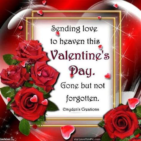 sending love  heaven  valentines day pictures